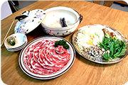 【エゴマ豚】しゃぶしゃぶセット(カット済-3人前)4,100円