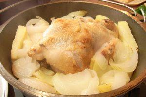 ダッチオーブン鶏料理例